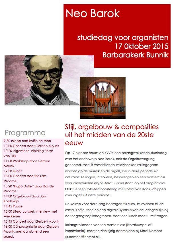Programma Symposium 17 oktober
